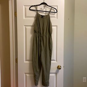 Green Forever 21 Jumpsuit